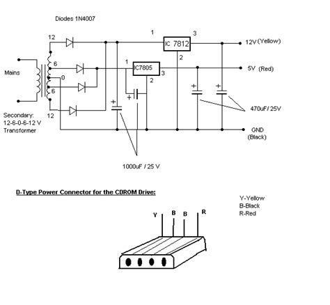 rom circuit diagram use the cd rom drive as a audio cd player without the