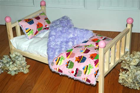 Doll Bed Cuppie Cake Doll Bed Fits American Girl Doll And Doll Bed For American