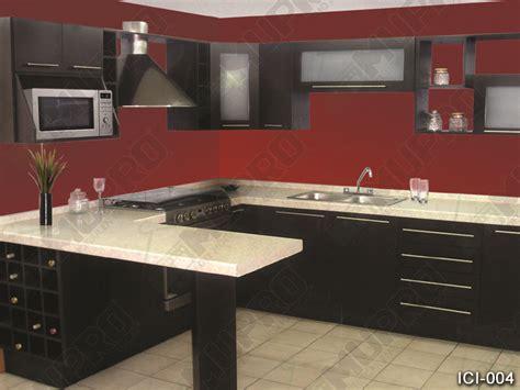imagenes de cocinas integrales rojas mupro closets y cocinas integrales 187 cocinas