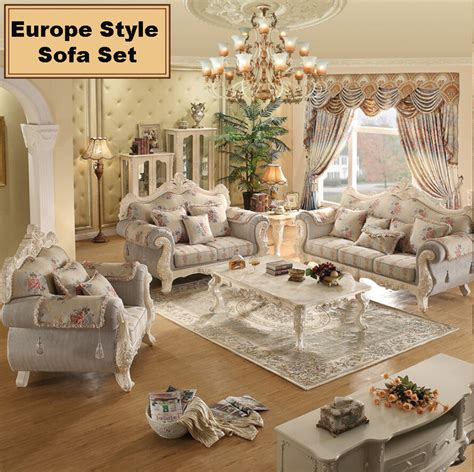 european living room furniture webetop european living room sofa combination solid wood