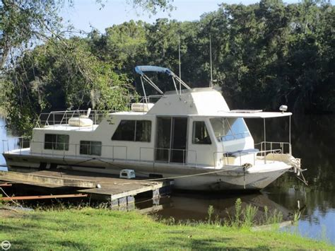 houseboats used 1993 holiday mansion 490 coastal cruiser detail classifieds