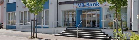Vr Bank In Mittelbaden Eg Gesch 228 Ftsstelle Sinzheim