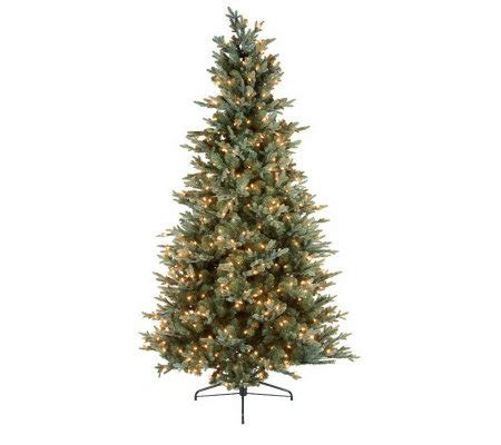 bethlehemlights 9 blue spruce christmas tree w instant