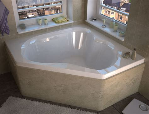 corner soaking bathtubs venzi tovila 60 x 60 corner soaking bathtub modern