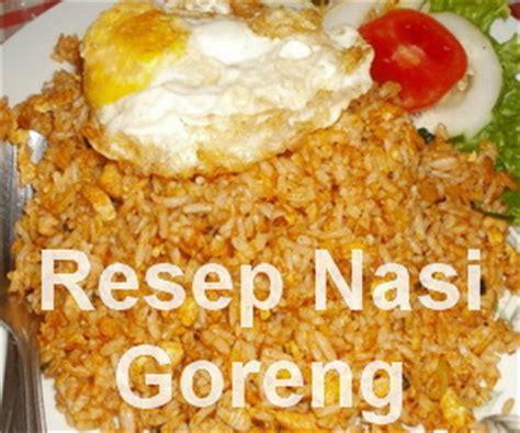 cara membuat nasi goreng untuk 2 porsi puppet lunch makanan untuk sarapan serta resep praktis