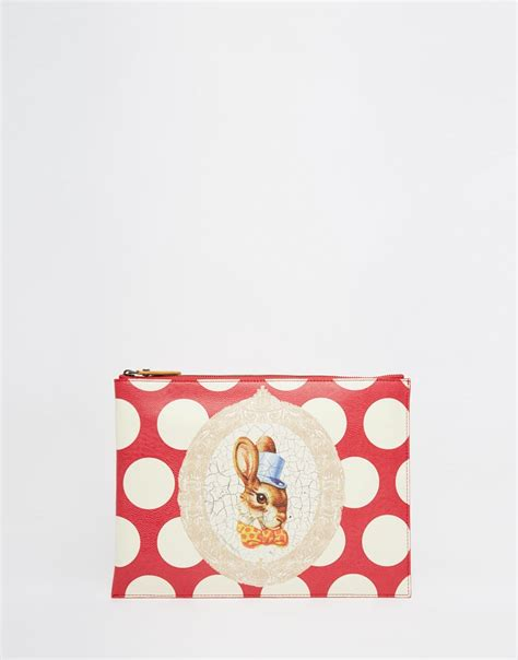 Rabbit Clutch Bunny Clutch vivienne westwood clutch bag with bunny rabbit in in