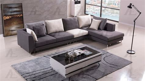gray fabric sectional sofa gray sectional sofa ae203 fabric sectional sofas