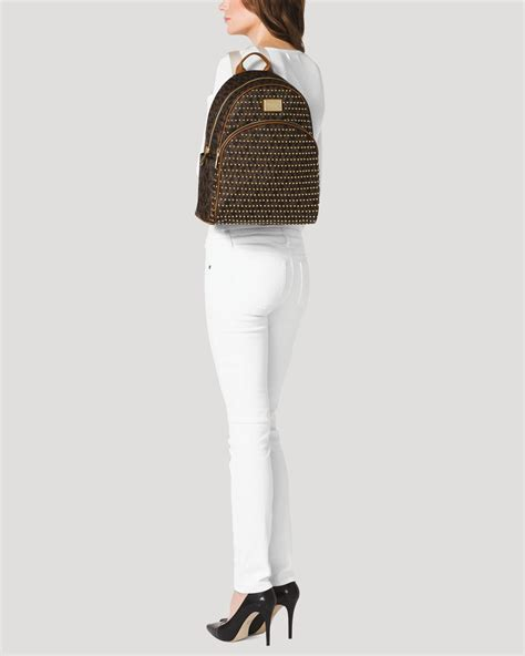 Tas Michael Kors Jet Set Item Large michael michael kors backpack jet set item large studded in brown lyst