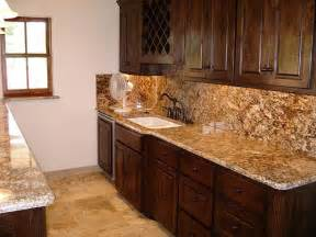 Kitchen Backsplash And Countertop Ideas kitchen backsplash features the same granite used for the countertop