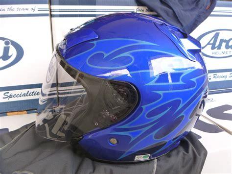 Helmet Shoei Biru shoei j 2 biru l tip top macam baru faris pitbrakes