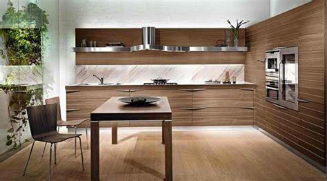 20 sleek and modern wooden kitchen designs home