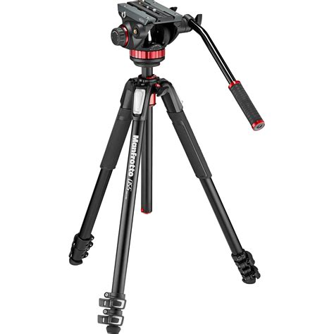 Tripod Pro manfrotto mt055xpro3 aluminum tripod with 502hd mvk502055xpro3