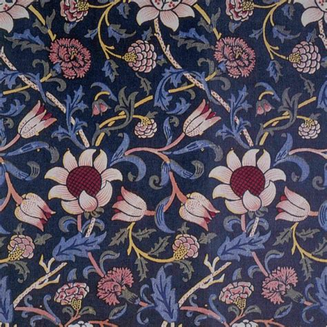 evenlode design tapestry textile by william morris