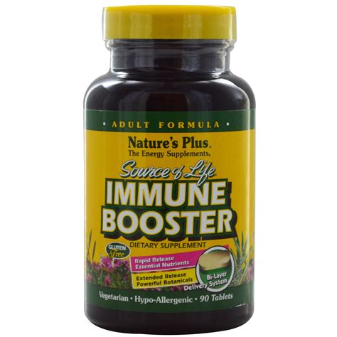 Imune Booster nature s plus source of immune booster 90 tablets