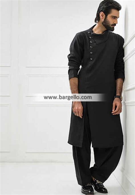 kurta pattern in black designer kurta for men www pixshark com images