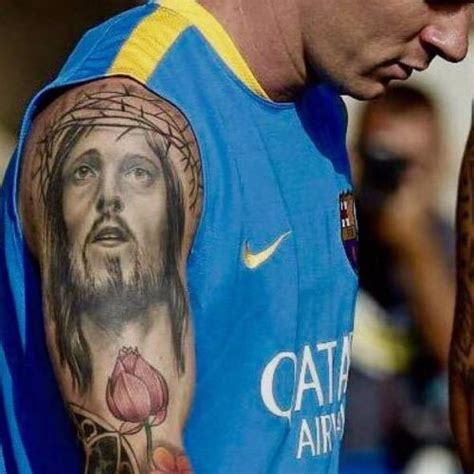 lionel messi s 7 tattoos amp their meanings body art guru