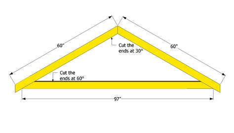 How To Make Trusses For Shed by Roof Truss Design Images