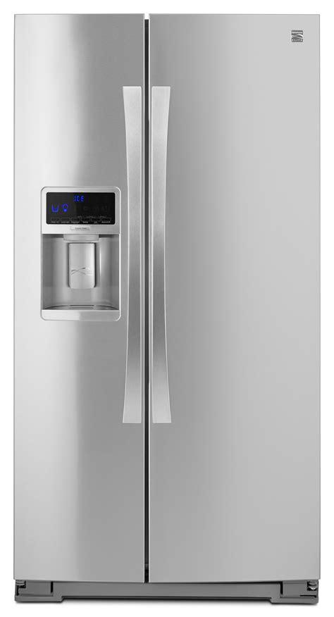 kenmore elite refrigerator fan kenmore elite 51773 28 cu ft side by side
