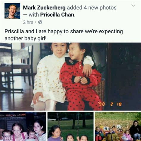 Another Expecting zuckerberg and priscilla chan expecting second