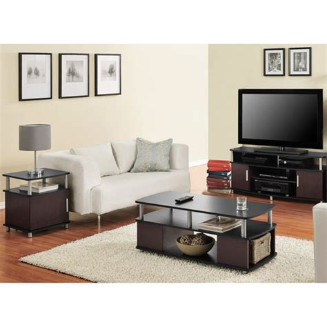 Carson 3 Piece Living Room Set Multiple Finishes Walmart Living Room Sets