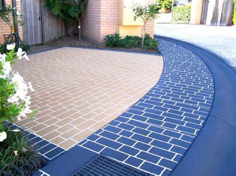 design ideas  concrete driveways hipagescomau