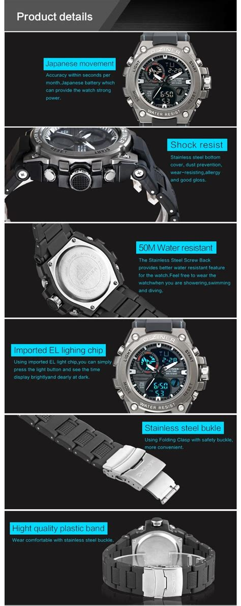 D Ziner New Sport luxury brand d ziner watches s sports quartz