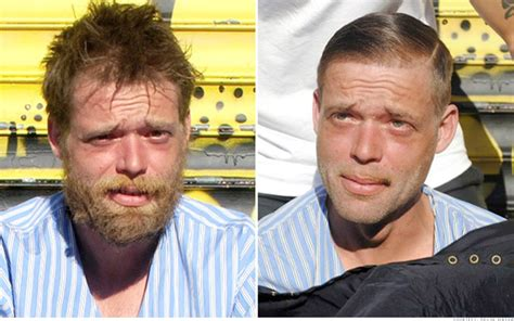 Haircuts Homeless | transformation 1 transformations on the street haircuts