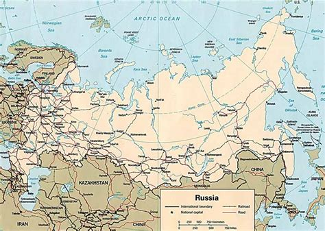russia map states russia map map all maps of the world