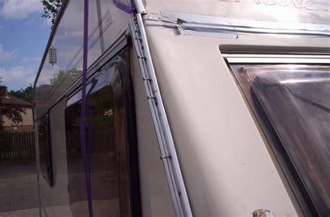 caravan awning rail repair wizards caravan repair