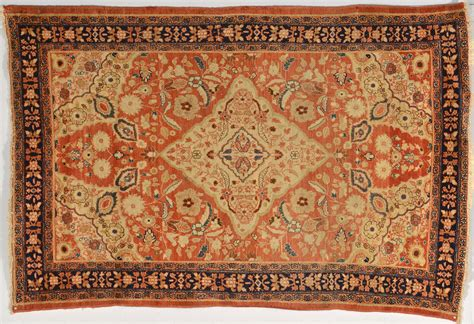 lot 244 mission malayer rug late 19th c