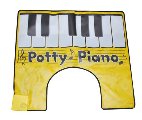 potty mouthed big thoughts from brains books the potty piano will liven up your bathroom geeks