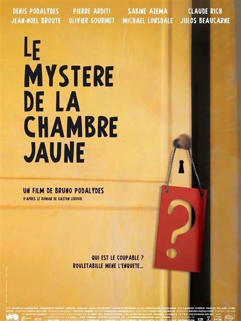 le myst鑽e de la chambre jaune complet mystere de la chambre jaune le 2003 rueducine
