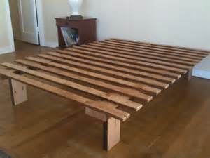 Build Simple Bed Frame Forward Thinking Furniture December 2009