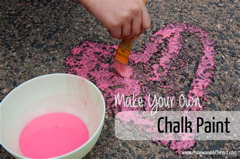 chalkboard paint make your own make your own chalk paint it s new and different it s