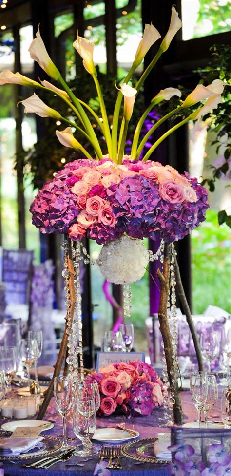 925 Best Images About Purple Lavender Wedding Flowers On Lavender Centerpieces For Weddings