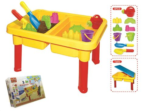 Play Table For Toddler by 2 In 1 Toddler Children Sand Water Play