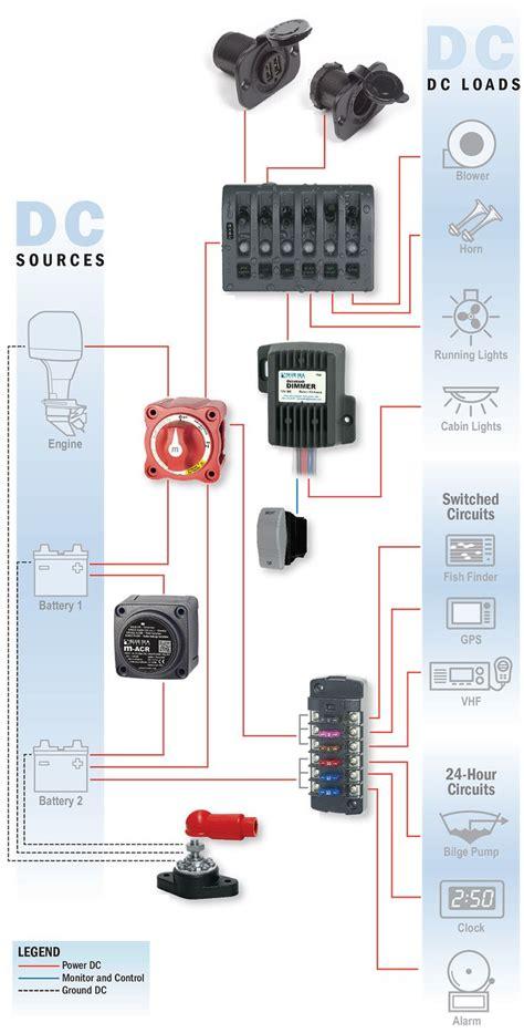 avalon pontoon wiring diagram light