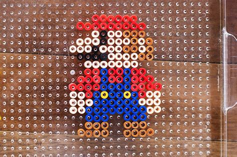 how to make perler stand up perler bead characters with mario all for the boys