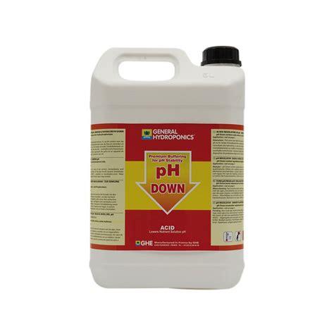 Ph 5 Le by Ghe Ph 5l Acide Pour Abaisser Le Ph De L Eau Des