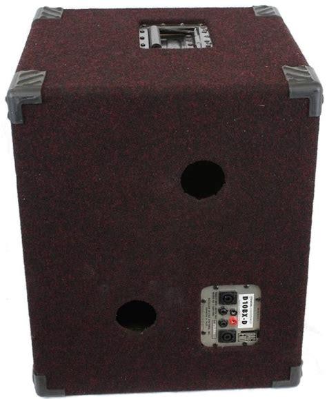 2x10 guitar speaker cabinet bag end d10bx d d 10 bx d 2x10 electric bass guitar