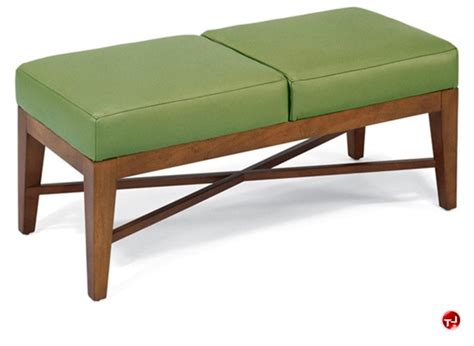 lobby bench seating the office leader flexsteel c2016 reception lounge lobby 2 seat bench