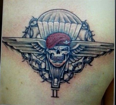 parachute tattoo airborne tattoos tattoos and