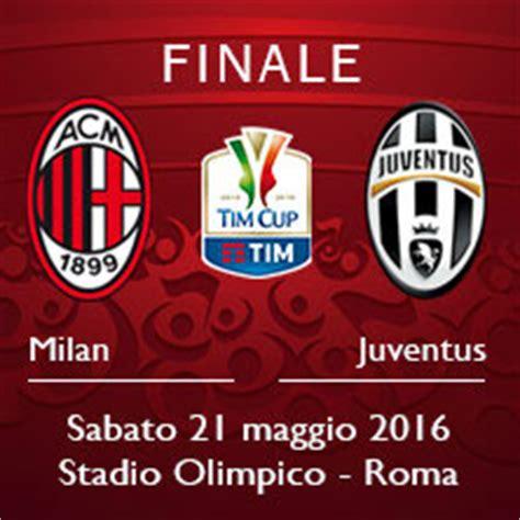 Calendario Qui Ticket Finale Tim Cup 2016 Tickets Ticketone