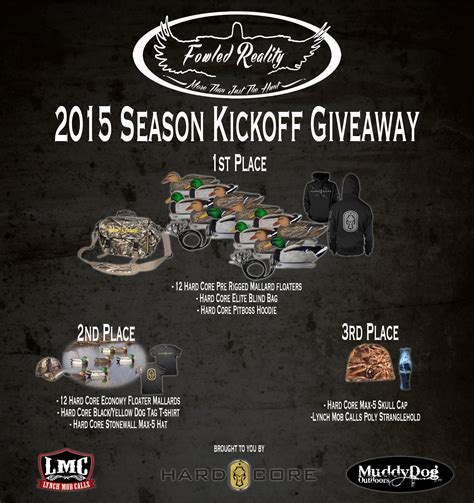 Free Hunting Gear Giveaway - free waterfowl hunting gear