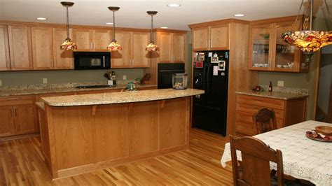 Best Color Countertop For Oak Cabinets by Granite Colors For Kitchen Countertops Oak Cabinets With