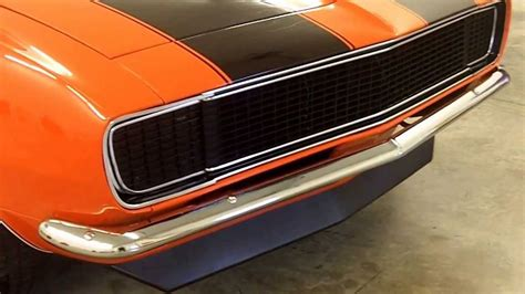 1968 camaro orange 1968 hugger orange camaro rs style redline auction