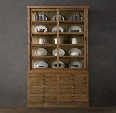 Printmakers Cabinet by Printmaker S Sideboard And Hutch From Restoration Hardware
