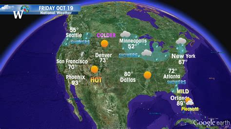 usa today temperature map weather windows of the world