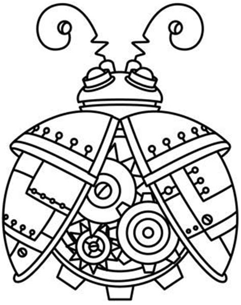 colour my sketchbook steam male steunk coloring pages coloring pages