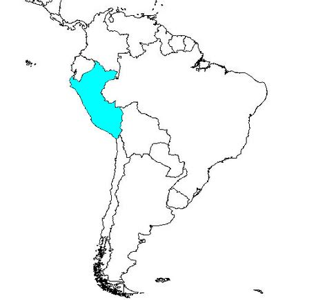 south america coloring map just as a reminder here s peru on the map of south america